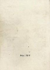 Verso de Yuma (1re série) -Rec068- Album N°68 (du n°255 au n°257)
