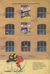 Verso de Bobo -3- Bobo comic's troupier