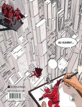 Verso de (AUT) Reuzé - Les métiers secrets de la bande dessinée