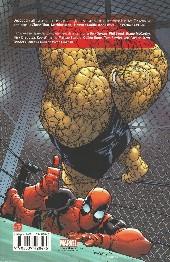 Verso de Deadpool Team-Up (100% Marvel) -2- Amis pour la vie