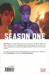 Verso de Season One (100% Marvel) -6- Ant-Man