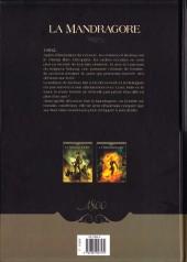 Verso de La mandragore (Cordurié/Santucci) -2- La Part sombre