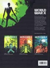 Verso de World War X -1- Hélius