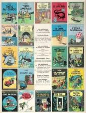 Verso de Tintin (Historique) -16C2- Objectif lune