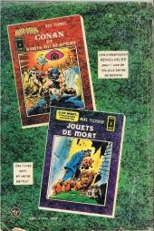 Verso de Névrose (1re série - Arédit - Comics Pocket) -4- Les nuits de rochemaure
