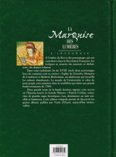 Verso de La marquise des Lumières -INT- La marquise des lumières