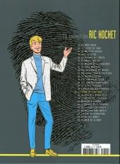 Verso de Ric Hochet - La collection (Hachette) -50- Le crime de l'an 2000