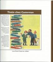 Verso de Tintin - Divers - Tintin chez casterman