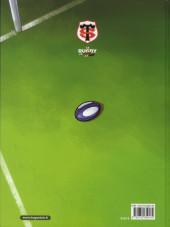 Verso de Le rugby en rouge et noir -1- Coup d'envoi !