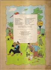Verso de Tintin (Historique) -11B35- Le Secret de la Licorne