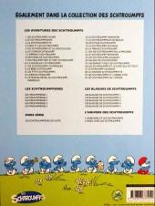 Verso de Les schtroumpfs -24Ind2- Salade de Schtroumpfs
