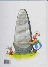 Verso de Astérix (Hachette) -1c2010- Astérix le Gaulois