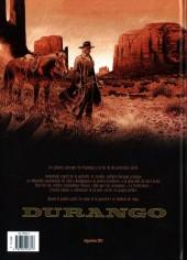 Verso de Durango -16TL- Le crépuscule du vautour