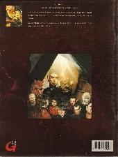 Verso de Les récits -2- Le diable