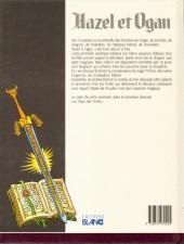 Verso de Hazel et Ogan -1- L'épée de foudre