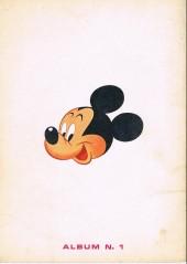 Verso de Votre série Mickey (2e série) - Albums Filmés ODEJ -1- Mickey et le trésor du Rajah