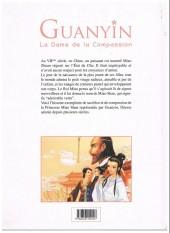 Verso de Contes et Légendes de Chine - Guanyin, la Dame de la Compassion