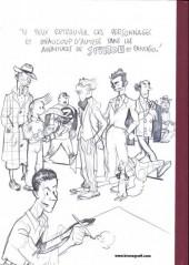 Verso de Spirou et Fantasio (Une aventure de.../Le Spirou de...) -5TL MO- Making of de l'album le groom vert-de-gris