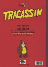 Verso de Tracassin -INT6- Tracassin - intégrale 6 : super-pocket 1968-1970