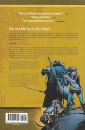 Verso de Joe the Barbarian (2010) -INT- Joe the Barbarian - The Deluxe Edition
