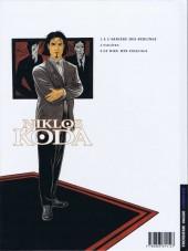 Verso de Niklos Koda -1- À l'arrière des berlines