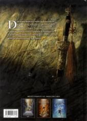 Verso de La dynastie des dragons -3- La Prison des âmes
