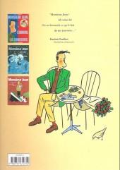 Verso de Monsieur Jean -1a- Monsieur Jean, l'amour, la concierge