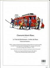 Verso de Chamonix Mont-Blanc -2- Le Train du Montenvers - La Mer de Glace
