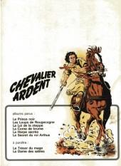 Verso de Chevalier Ardent -1a1974- Le prince noir