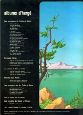 Verso de Tintin - Divers -C3a76- Tintin et le lac aux requins