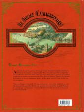Verso de Le voyage Extraordinaire -2- Tome 2 - Le Trophée Jules Verne 2/3