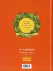 Verso de Ma Vie Posthume -2- Anisette et Formol