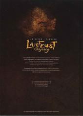 Verso de Lanfeust Odyssey -4COF- La grande traque