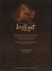 Verso de Lanfeust Odyssey -2COF- L'énigme or-azur - 2de partie