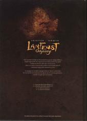 Verso de Lanfeust Odyssey -1COF- L'énigme Or-Azur - 1re partie