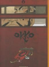 Verso de Okko -TL4- Le cycle du feu - I et II