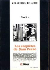 Verso de Sam Pezzo (Les enquêtes de) -4- Tome 4