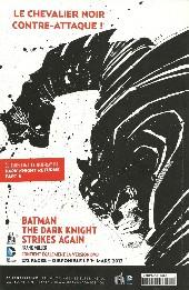 Verso de Batman Saga -10- Numéro 10