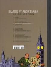 Verso de Blake et Mortimer - La collection (Hachette) -5- Le Mystère de la grande pyramide - Tome II - La Chambre d'Horus