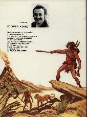 Verso de Tounga (Cartonné) -3a- Des loups et des hommes
