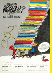 Verso de Spirou et Fantasio -5e75- Les voleurs du Marsupilami