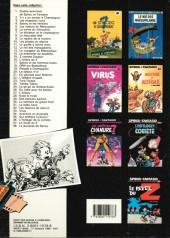 Verso de Spirou et Fantasio -34a87- Aventure en Australie