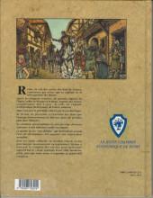 Verso de Histoires des Villes (Collection) - Reims - Cité royale