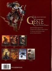 Verso de La geste des Chevaliers Dragons -6a- Par-delà les montagnes