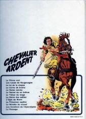 Verso de Chevalier Ardent -11a1982- La révolte du vassal