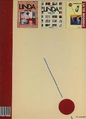 Verso de Linda aime l'art -3- La vie moderne