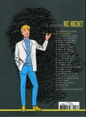 Verso de Ric Hochet - La collection (Hachette) -53- Meurtre à l'impro