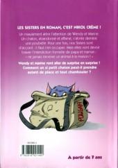 Verso de Les sisters -RJ04- Le chat à bandoulière