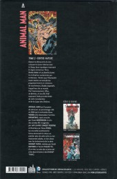 Verso de Animal Man -2- Contre-Nature