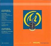 Verso de Blake et Mortimer (Publicitaire) -6Philips1- La Marque Jaune